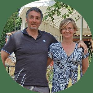 Nathalie & Jean-Christophe, les propriétaires