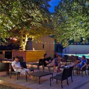 soirée en terrasse à privas