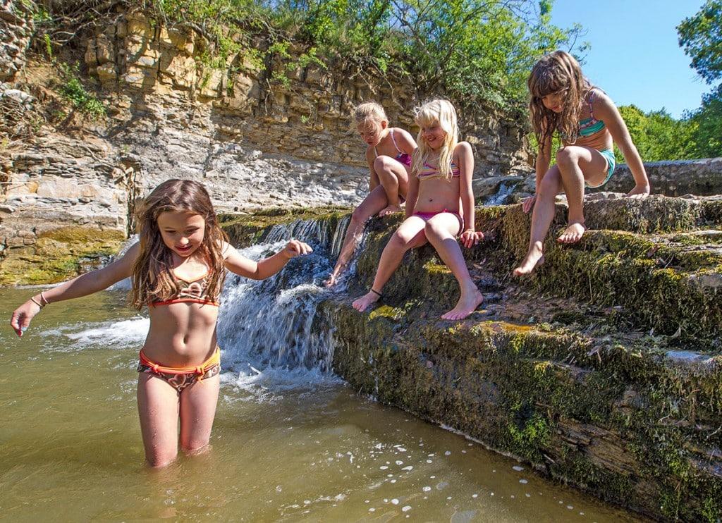 Zwemmen in Privas en in de Ardèche