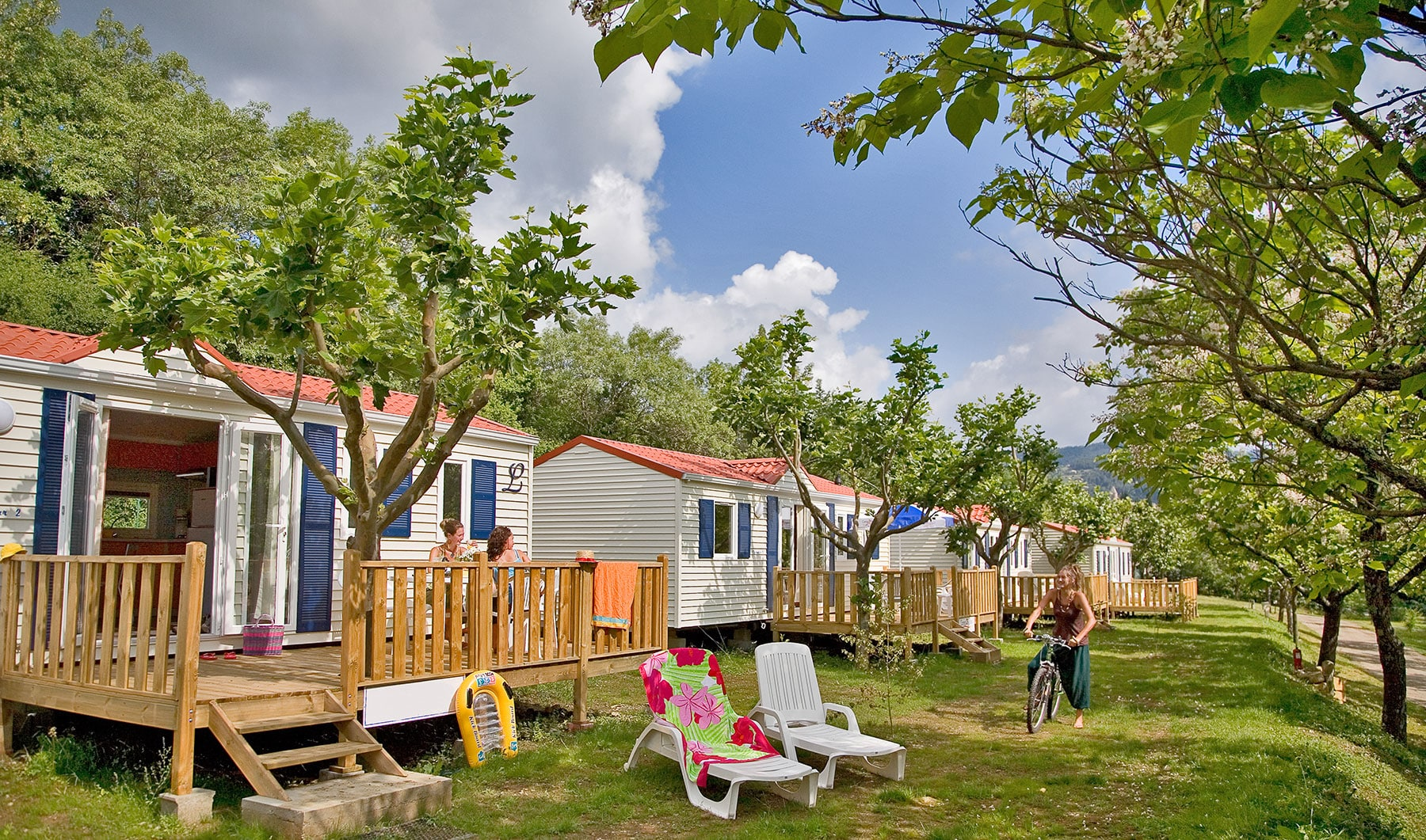 Mobil Home Camping Sud France