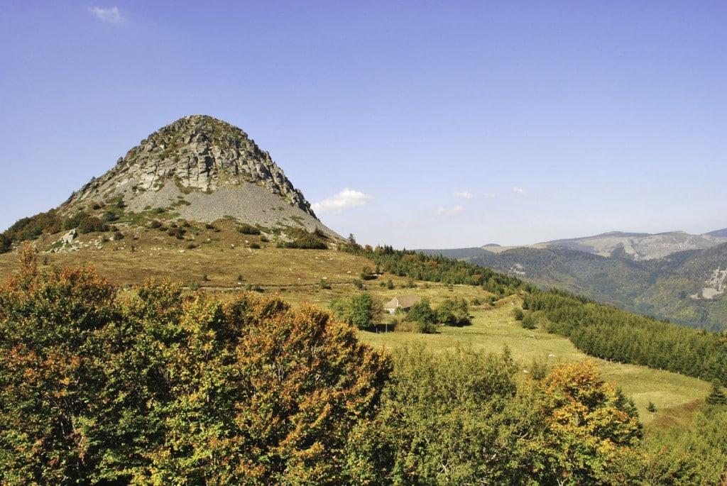 Le Mont Gerbier de Jonc, sources de la Loire