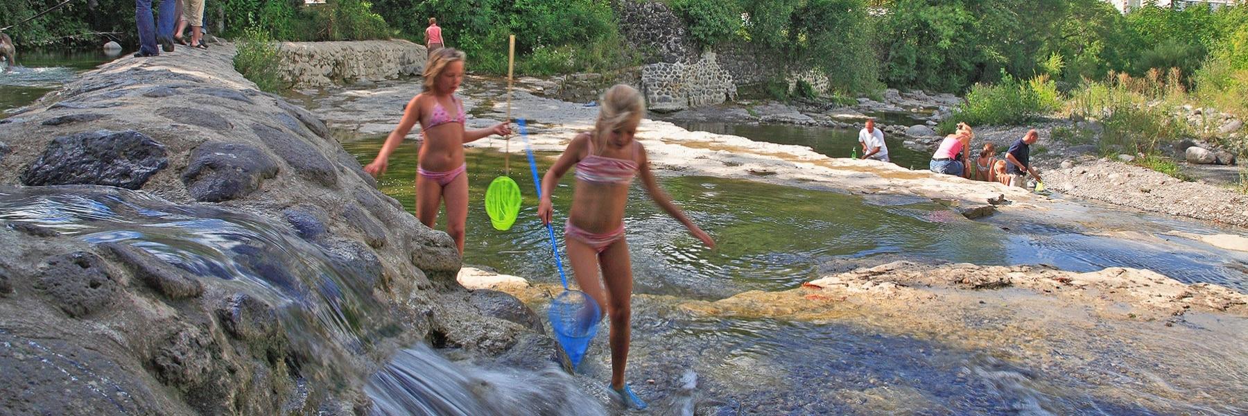 Baignade à Privas et en Ardèche