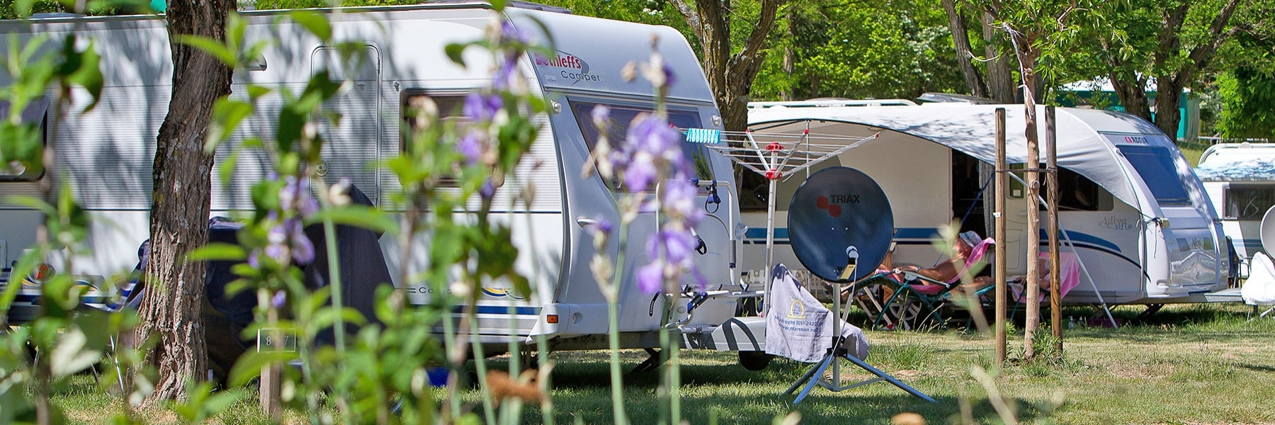 Clubs : groups of caravans and campervans