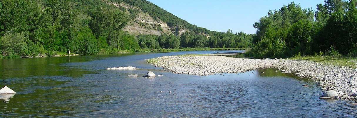 Schwimmen in der Ardèche