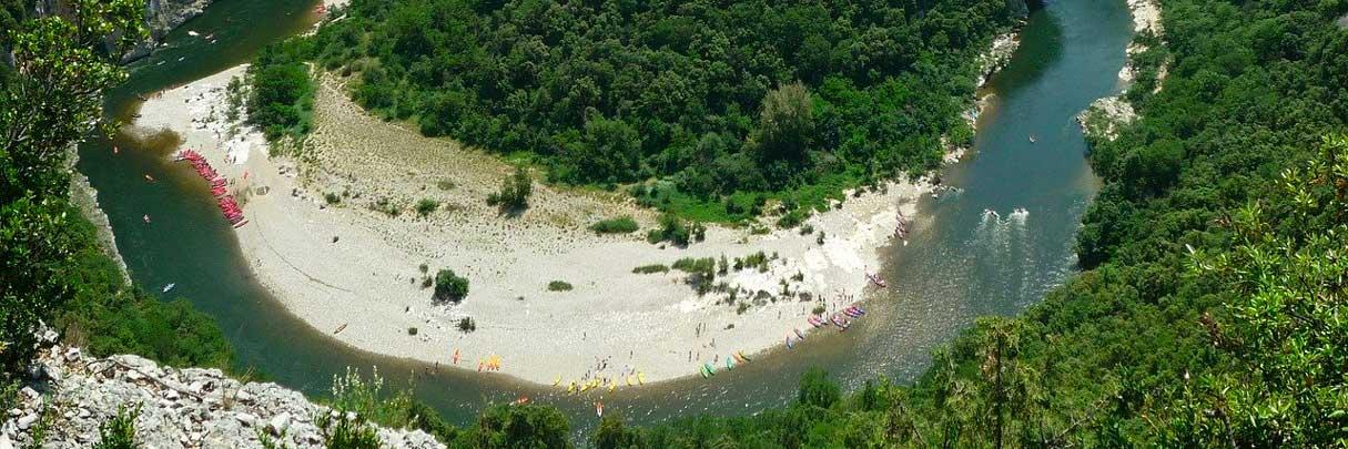 De kloven van de Ardèche