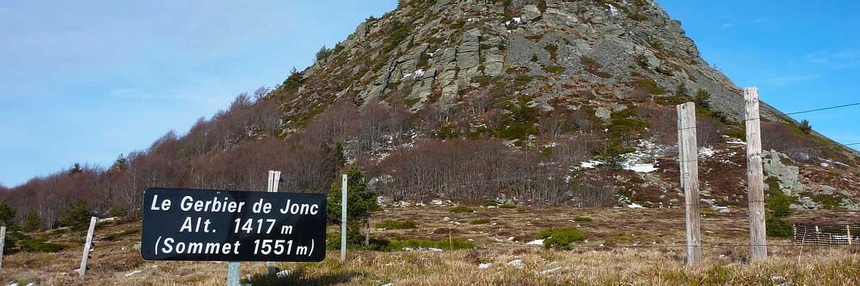 Der Mont Gerbier de Jonc