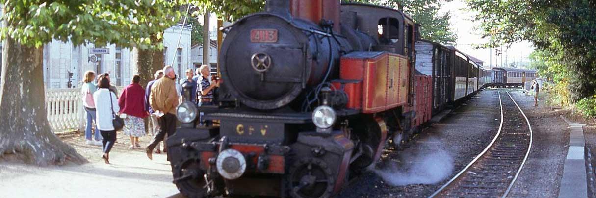 Het treintje van de Ardèche